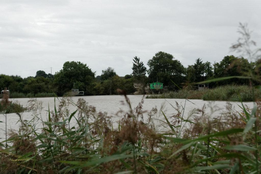 Carrelets sur la Charente