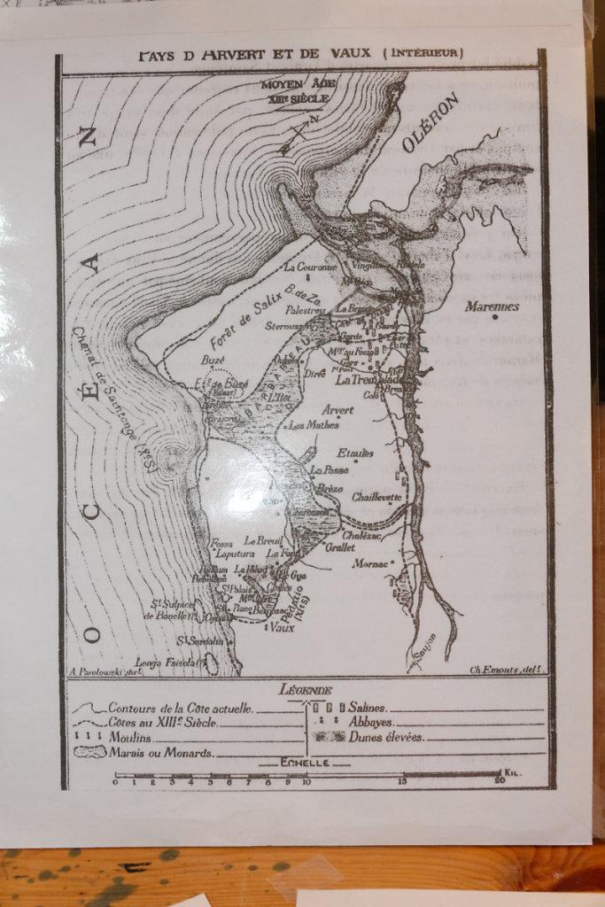 Carte du XIII siècle