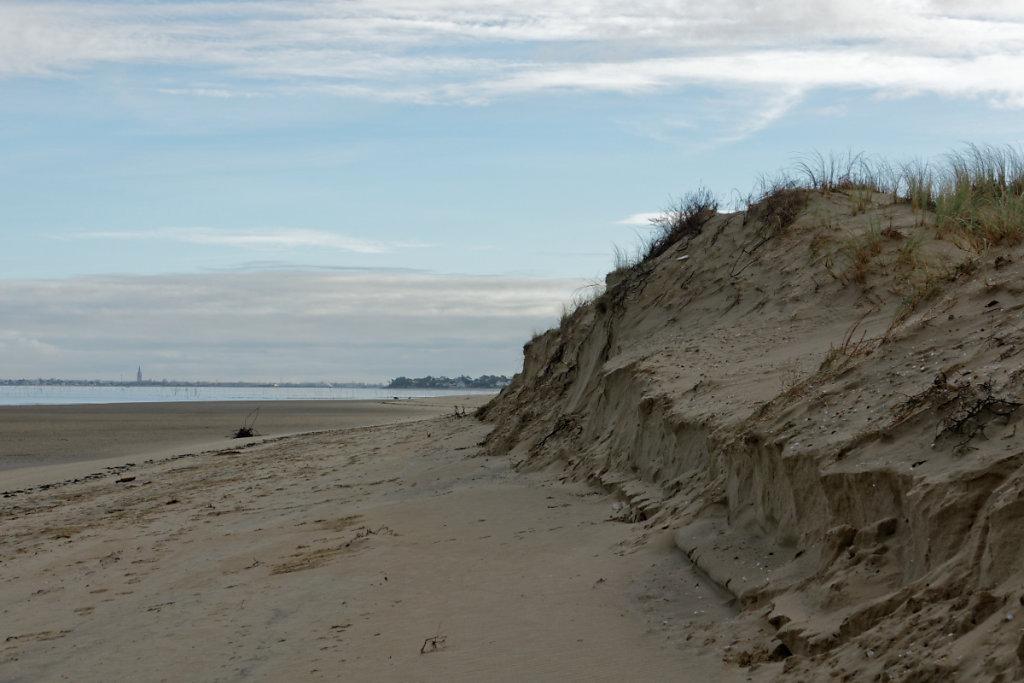 La dune érodée